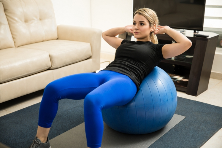 3. Stability ball