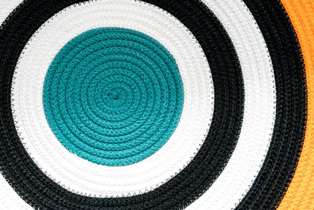 area rug circular