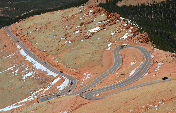 The Pikes Peak Maratho