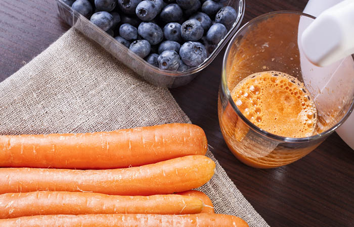 Blueberry-Carrot Smoothie