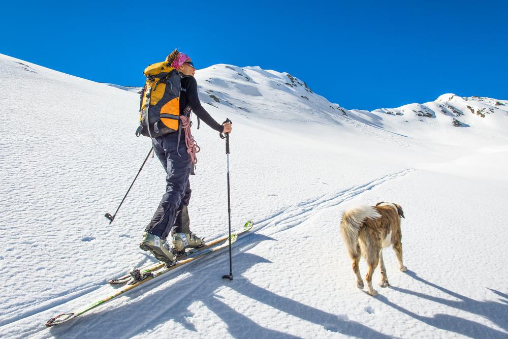 cross coountry skiing