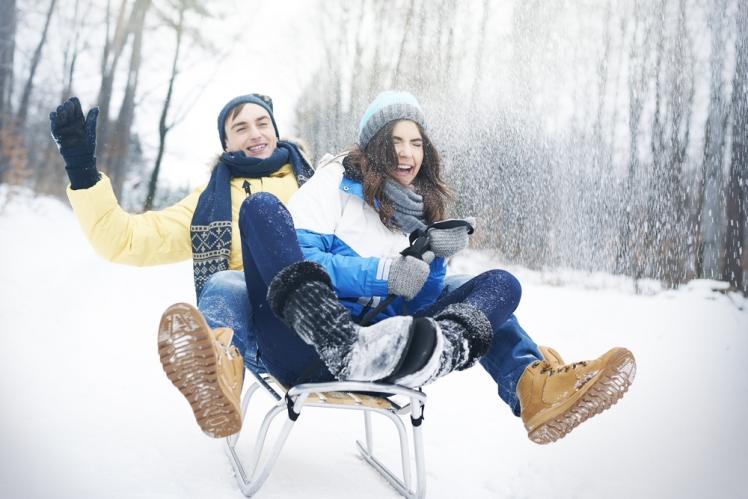 Go Tobogganing (or Snow Tubing)