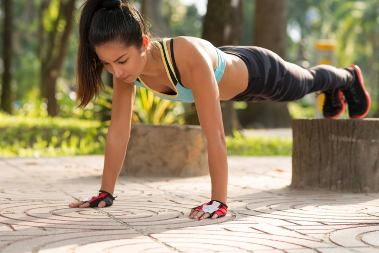 Planks can be modified for any fitness level