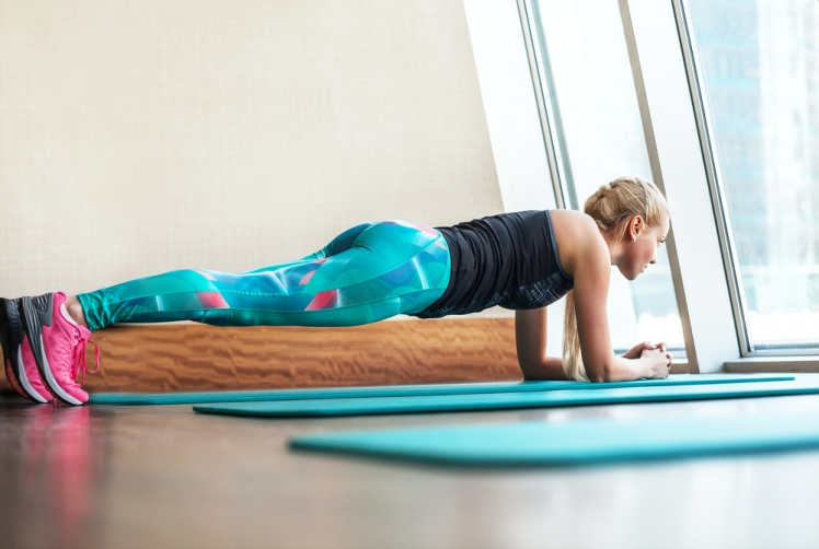 Planks can put you in a meditative state