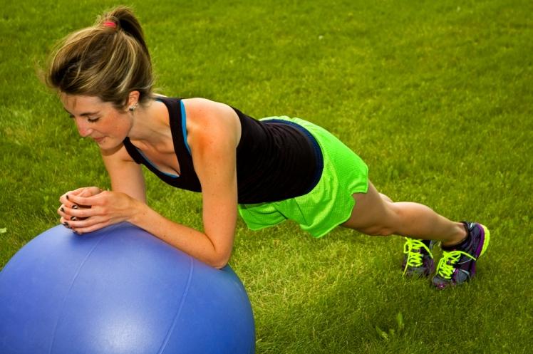 Planks improve balance and posture