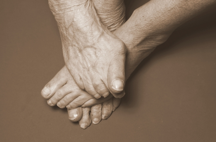 Your feet can grow as you age