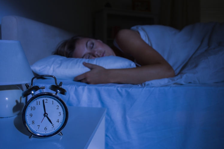 Get at least 8 hours of sleep every night