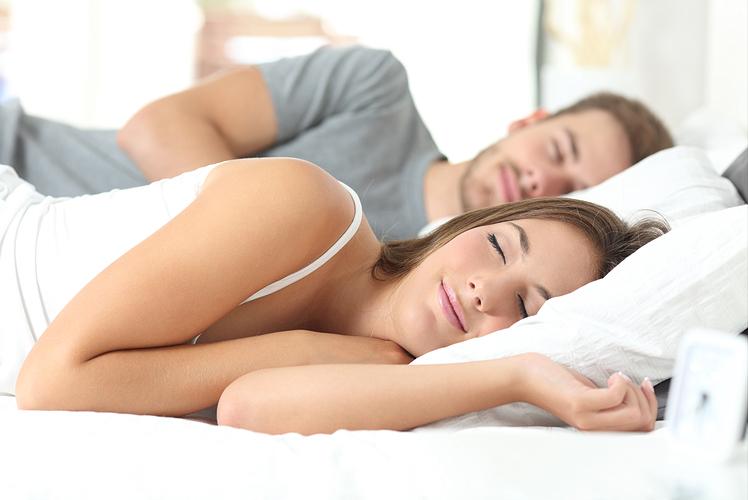 Get lots of sleep