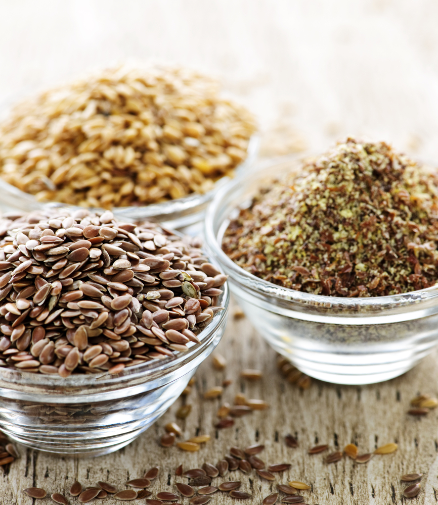 ground flax seeds can help to reduce your cancer risk