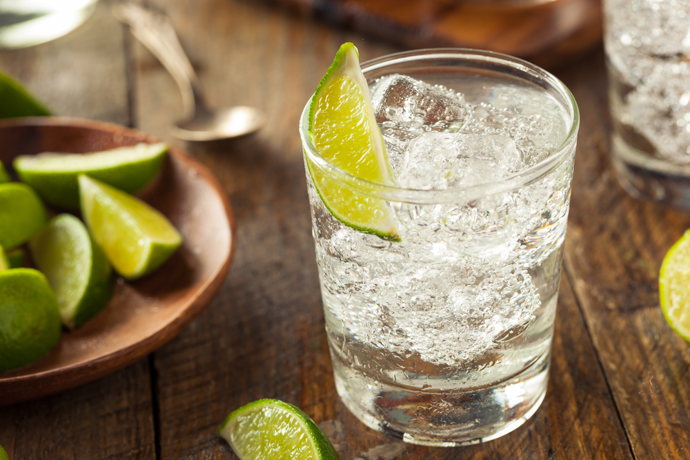 Skip the margarita and go with vodka and soda instead