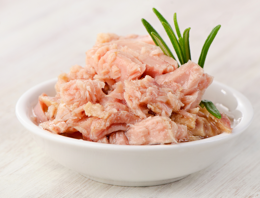Canned Tuna bed time snack