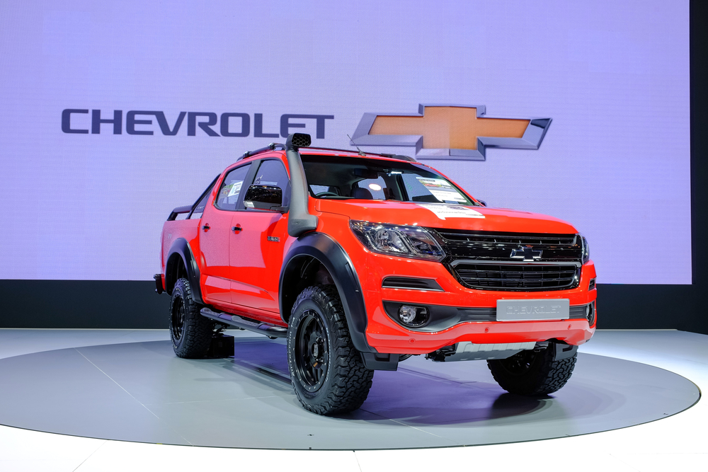 Choose the Chevy Colorado