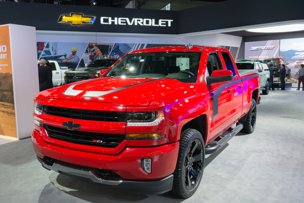 Compare New Chevrolet Trucks