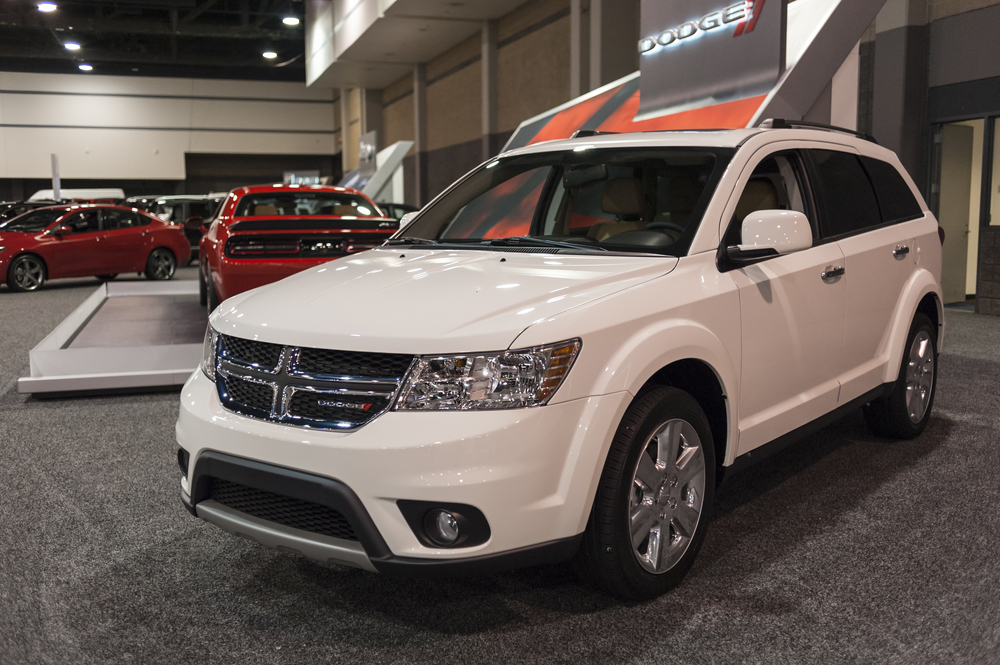 Comparing the top features of the Dodge Journey 2016 and 2017