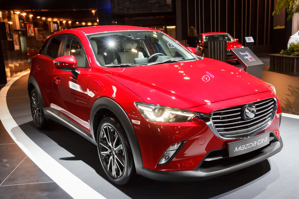 Find out the options for leasing a Mazda SUV
