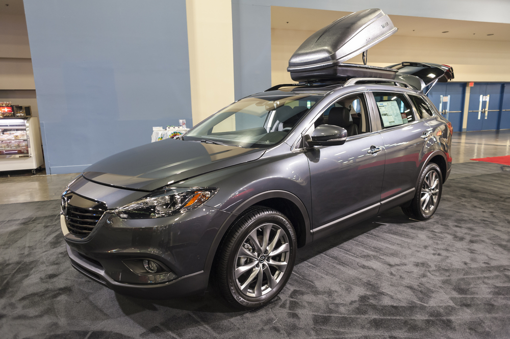 Ride in luxury with the Mazda CX-9