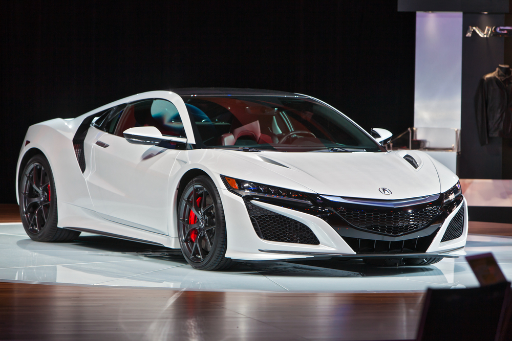 Sports Cars Compared Acura NSX