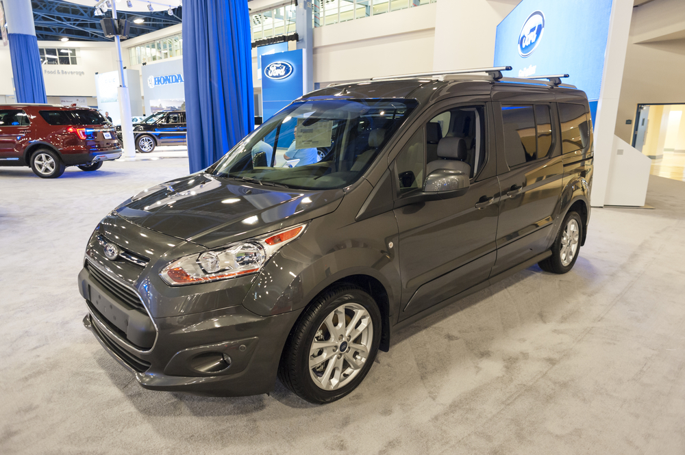 The Ford Transit Connect is Among The SUV Vans to Research