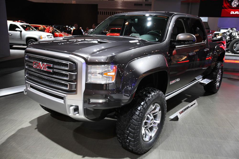 The GMC Sierra