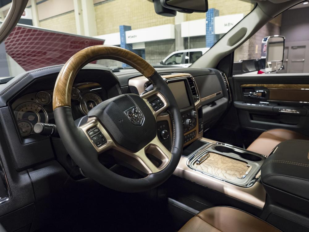 The Truck's Interior