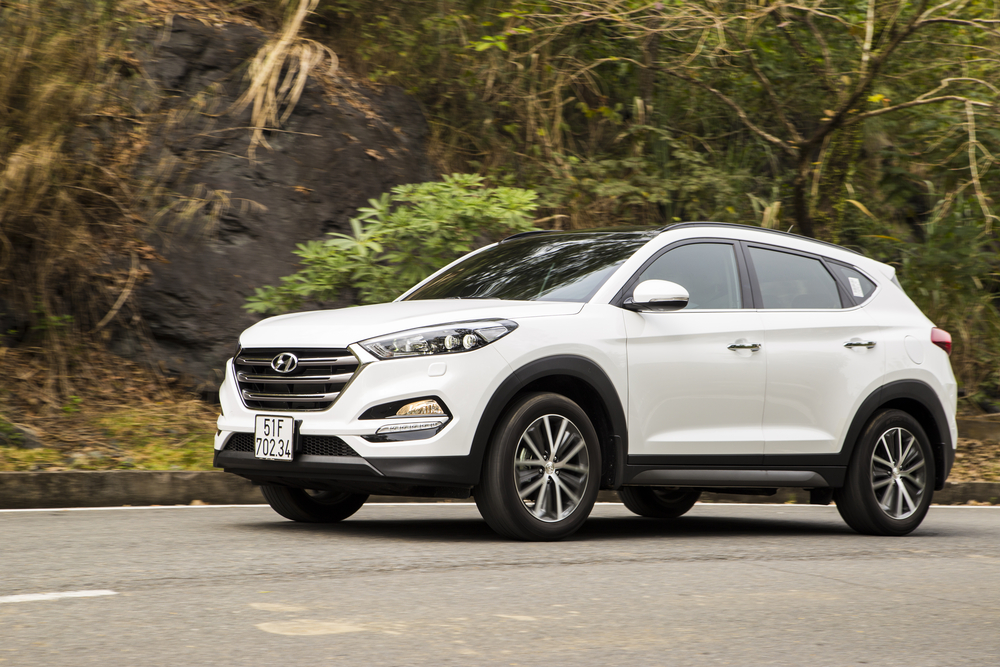 The Tucson the compact SUV of new model hyundai cars