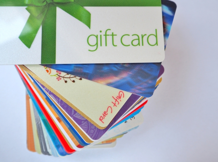 #2 Gift Cards