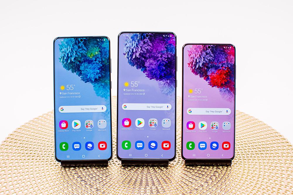 galaxy s20 phones
