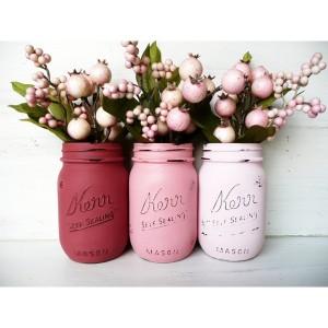 Paint Mason Jars