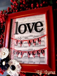 Frame Your Favorite Love Song