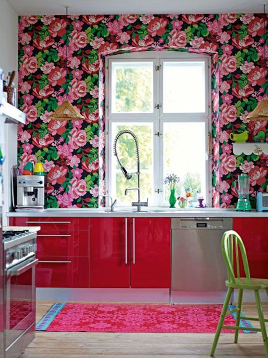 35e10b3d9471f9e73dfc6140a7aed9ec--kitchen-wallpaper-pink-kitchens