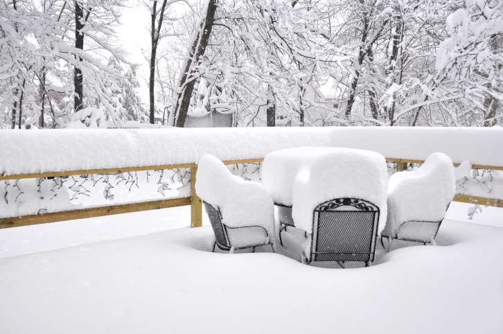 Winterize Patio Furniture & Garden Tools