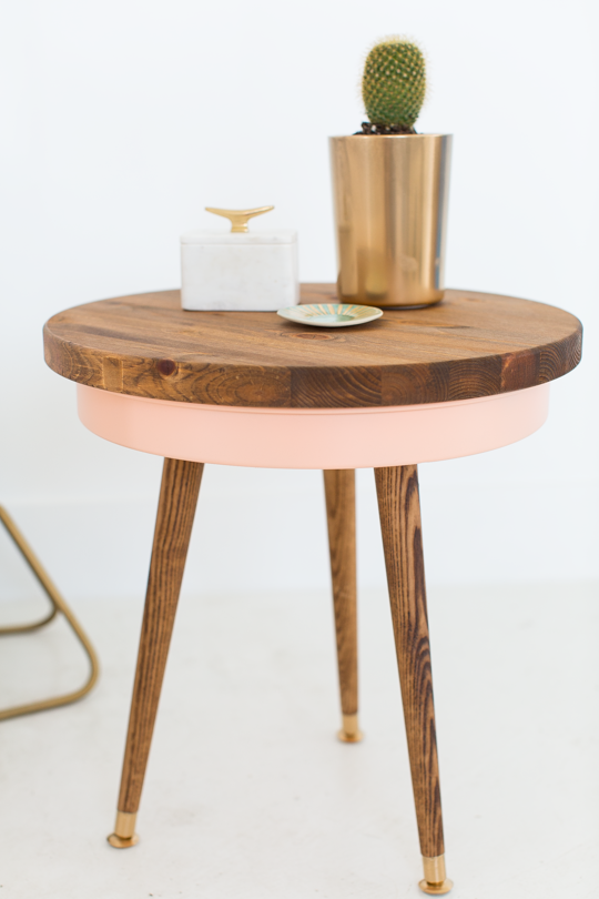 Mid-Century Style Side Table