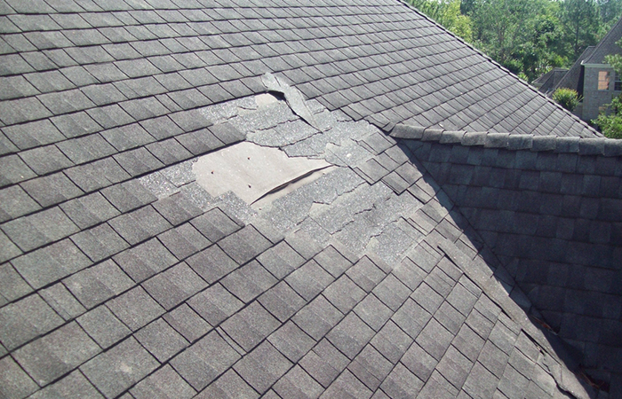 Your shingles are missing