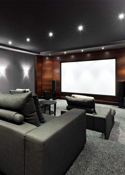 Audiovisual Theater Room