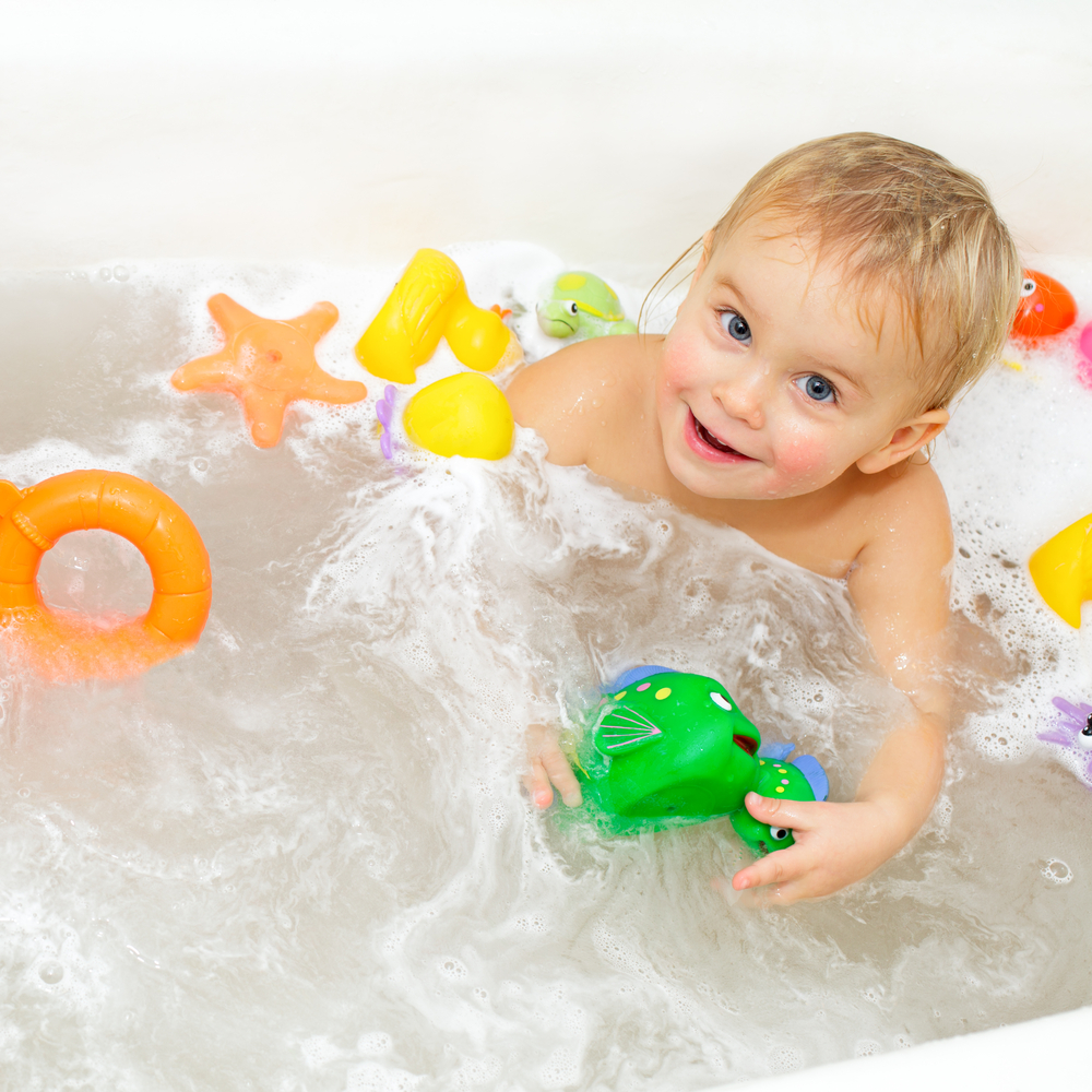 your baby's bath toys