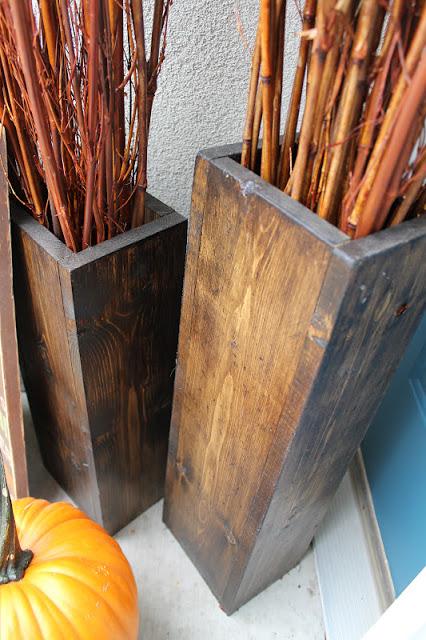 Pallet Wood Vases