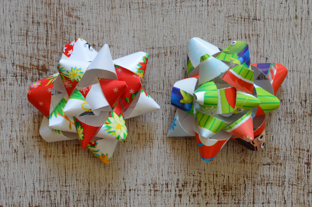 Make wrapping bows for throughout the year