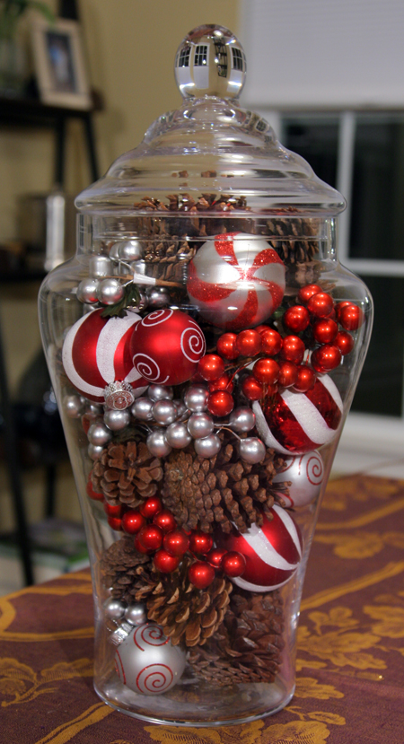 The Glass Jar Centerpiece