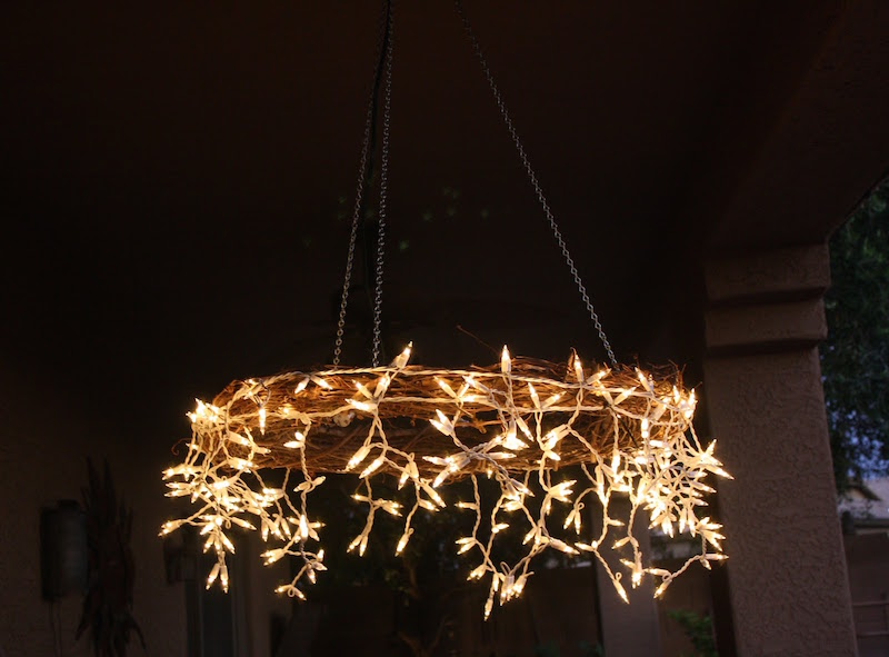 How to Make 8 Amazing Chic DIY Chandeliers - Reliable Remodeler
