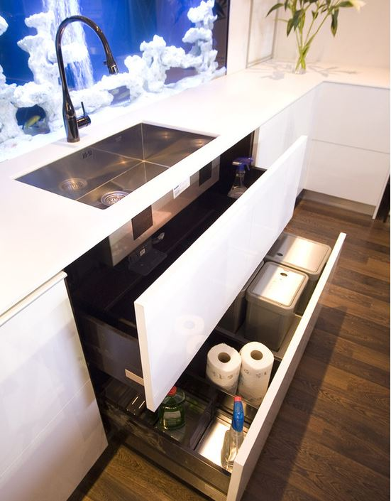 drawer under sink