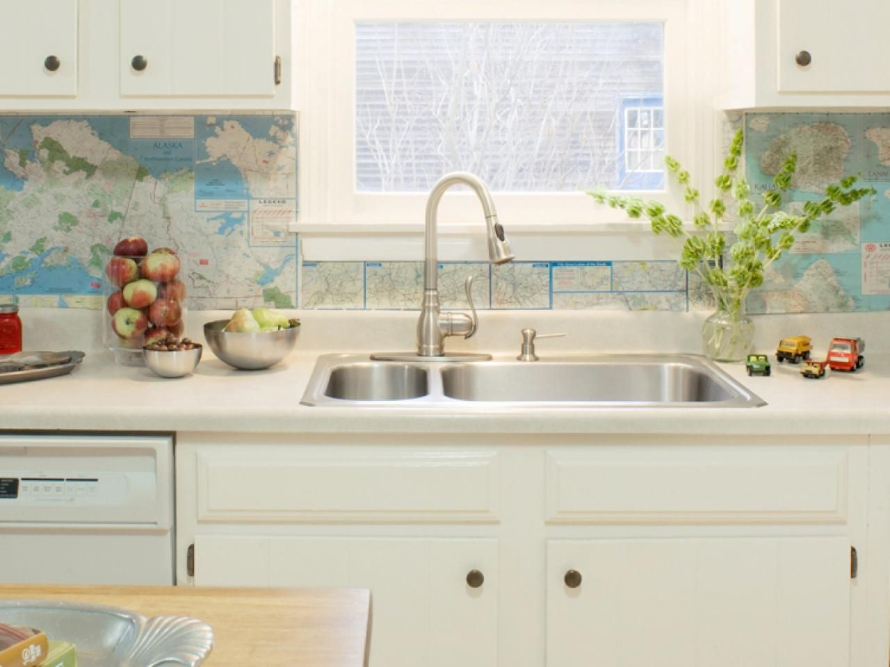 Recycled Paper Backsplash