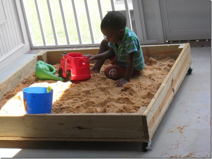 Rolling sandboxes