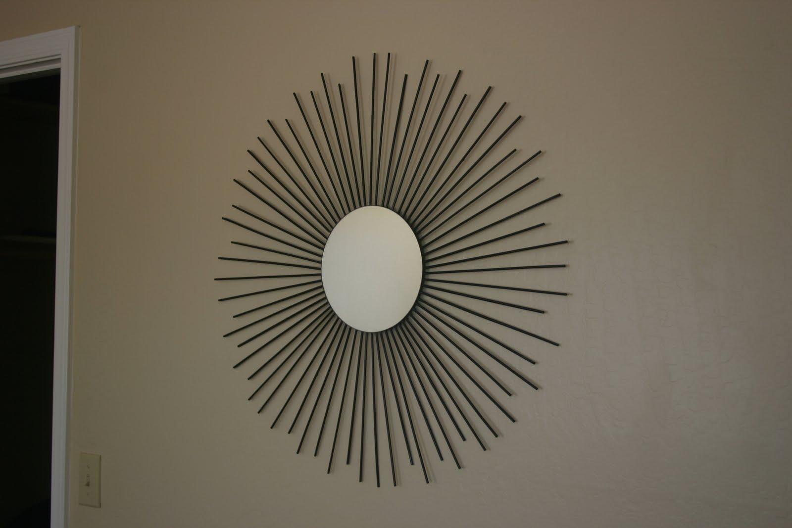 Sunburst Porch Mirror