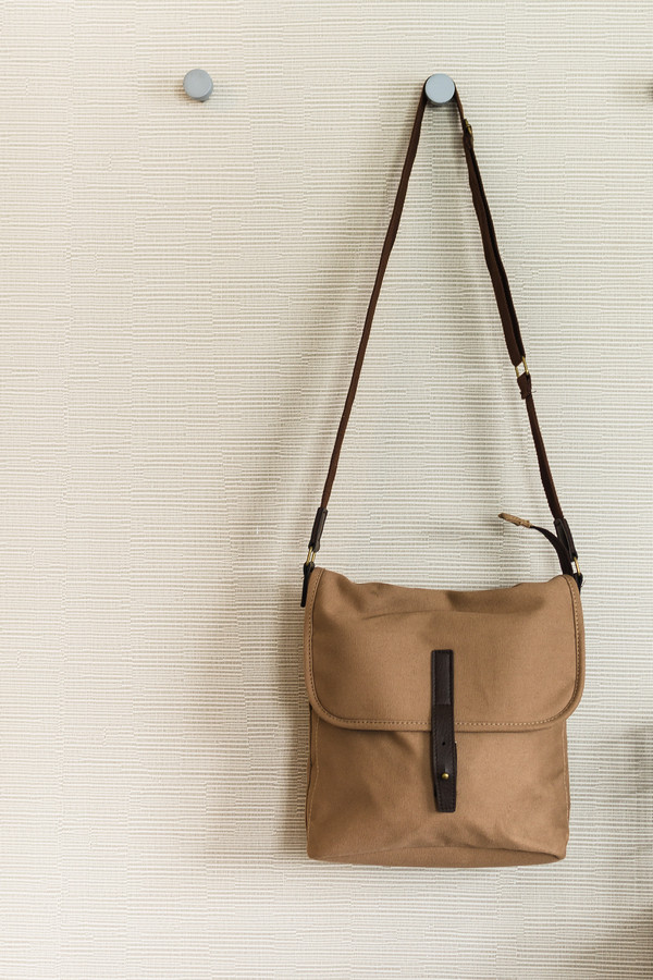Hang purses on hooks