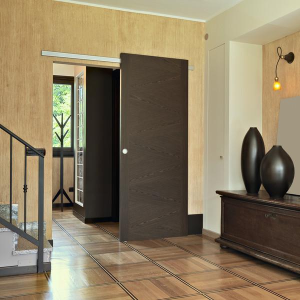 Sliding doors versus regular doors