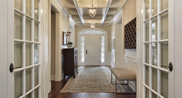 Solutions to Create Space Saving Entryways