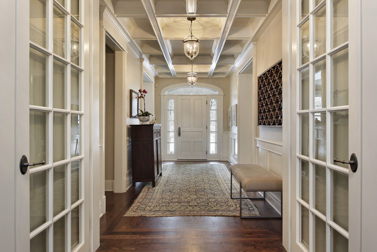 Space Saving Entryways