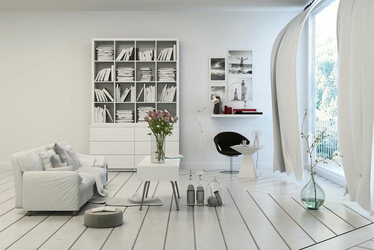 Use smaller furnishings