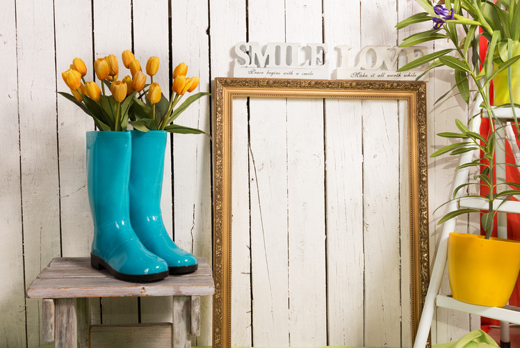 Rain boot Display