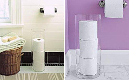 Vase for Toilet roll holder
